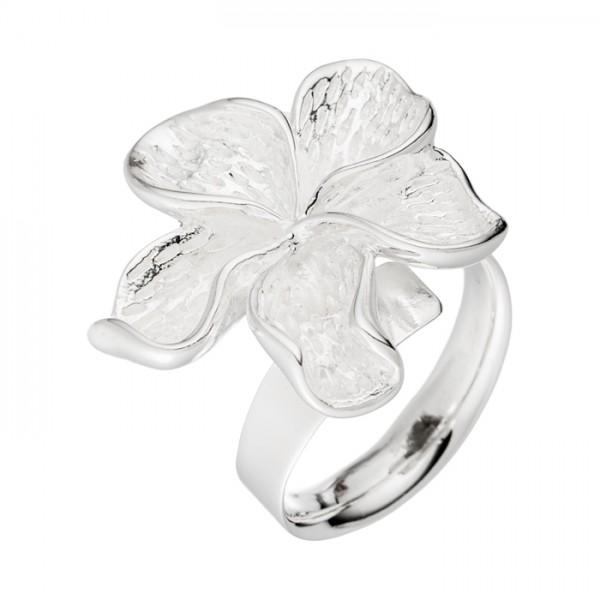Silberring mit 5 kleinen Blättern