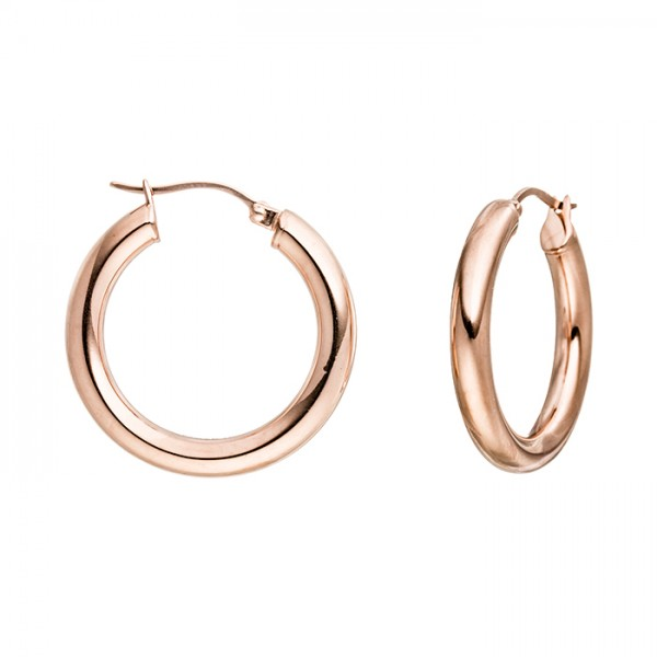 Edelstahlcreole PVD-Farbe Rosegold