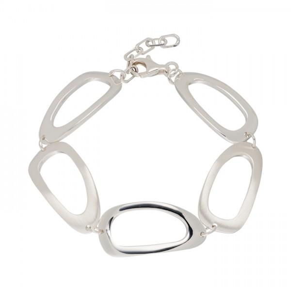 Hochwertiges Design Silberarmband