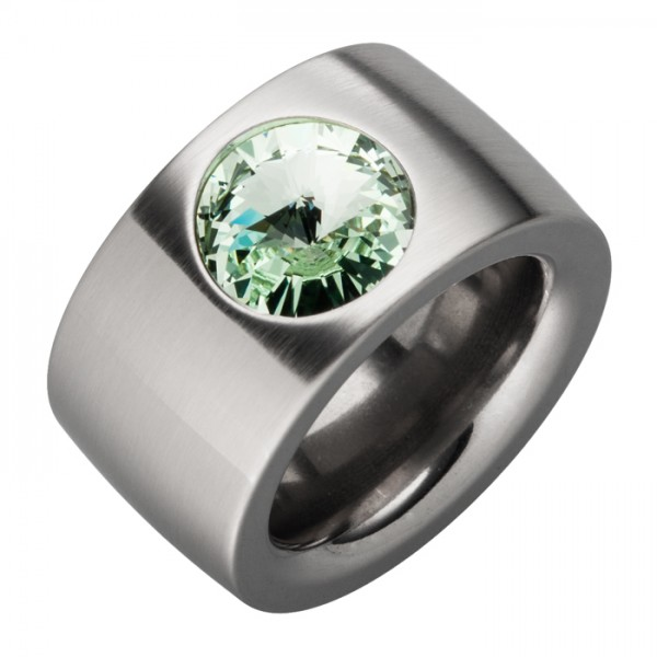 Ring Swarovskistein Chrysolit
