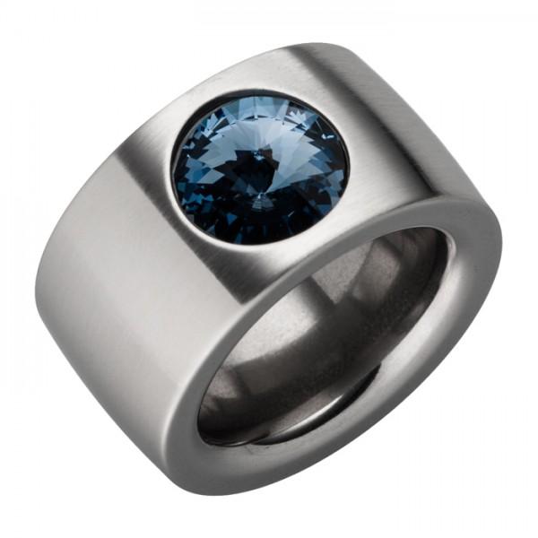 Ring Swarovskistein Denim Blue