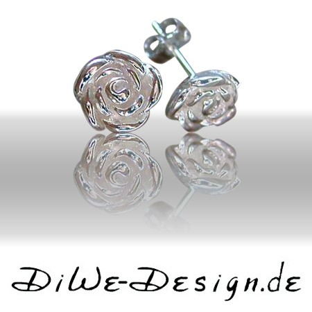 Design Ohrringe Rose