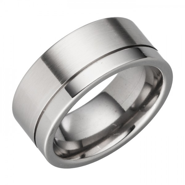 Schlichter 10mm breiter Ring