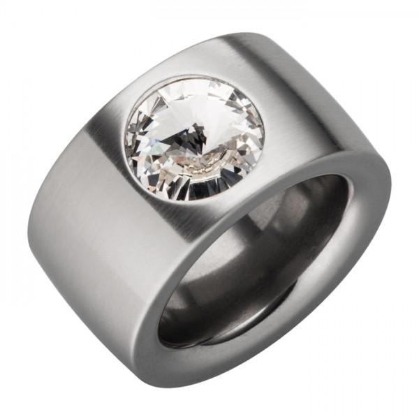 Ring Swarovskistein Weiß Crystal