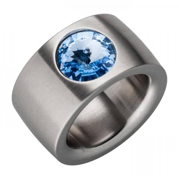 Ring Swarovskistein Light Sapphire