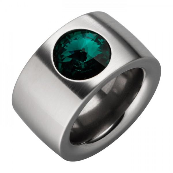 Ring Swarovskistein Emerald